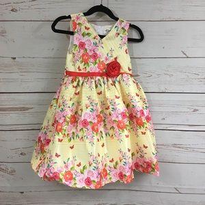 Girls Nannette Floral Dress